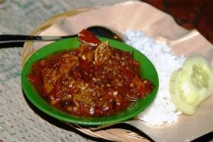 makanan khas jogja-oseng mercon