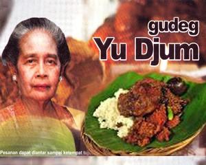 Gudeg enak Yu Djum