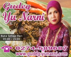 Gudeg enak Yu narni