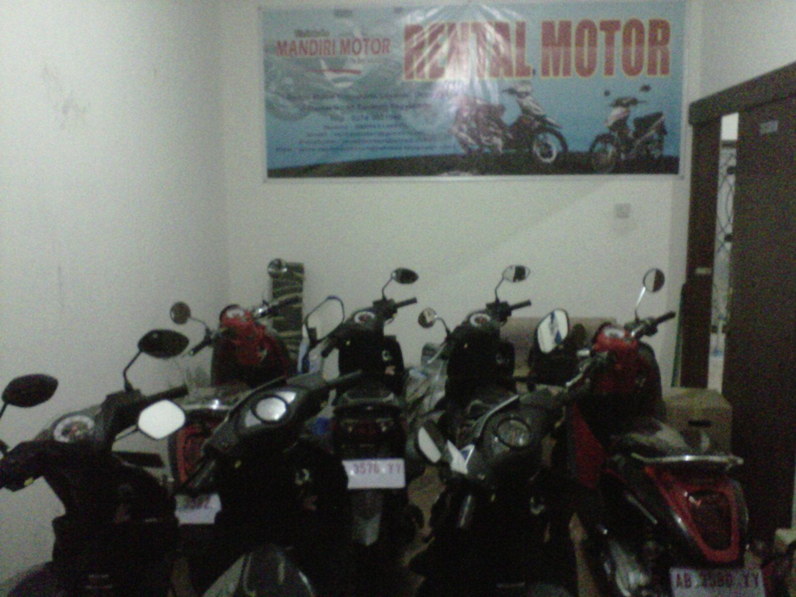 tempat sewa motor di Jogja
